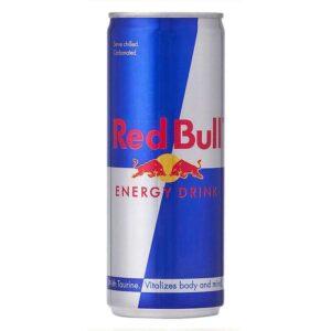 B.R. RED BULL 250 ml.