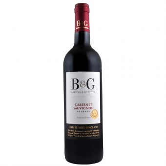 VINO TINTO B & G CABERNET SAUVIGNON 750 ml.