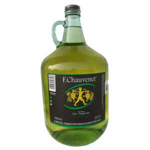 VINO BLANCO CHAUVENET FRENCH 4000 ml.