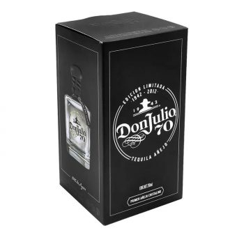 TEQUILA DON JULIO 70 AÑEJO CRISTALINO 700 ml.