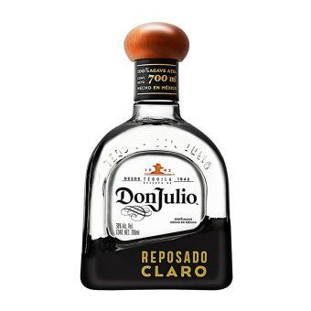 TEQUILA DON JULIO REPOSADO CLARO 700 ml.