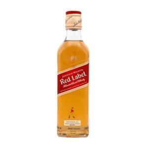 WHISKY JOHNNIE WALKER RED LABEL 375 ml.