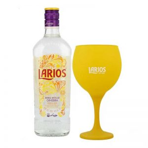 GINEBRA LARIOS DRY 700 ml. + COPA