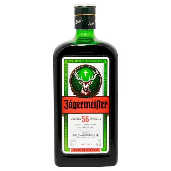 LICOR JAGERMEISTER DE HIERBAS 700 ml.