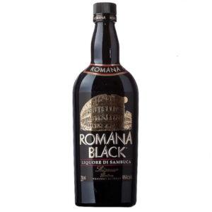LICOR SAMBUCA ROMANA BLACK 750 ml.