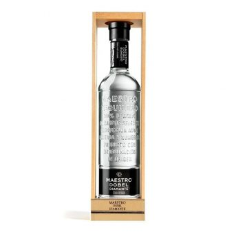 TEQUILA MAESTRO DOBEL DIAMANTE 750 ml.