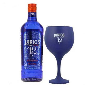 GINEBRA LARIOS 12 AÑOS 700 ml. + COPA