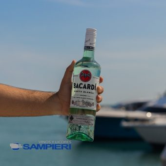 Ron Bacardi Blanco 750 ml.