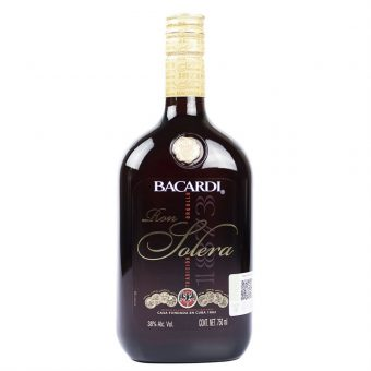 Ron Bacardi Solera 750 ml.