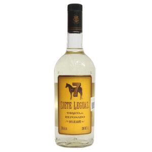 Tequila 7 Leguas Reposado 1000 ml.