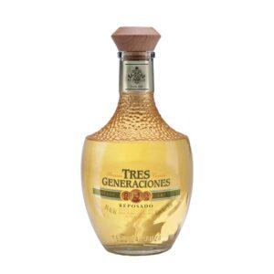 Tequila 3 Generaciones Reposado 750 ml.