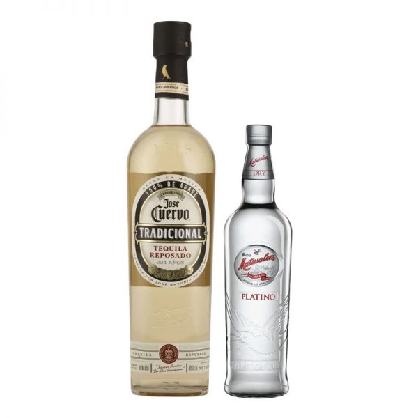TEQUILA CUERVO TRADICIONAL 950 + MATUSALEM PLATINO 375 ml.