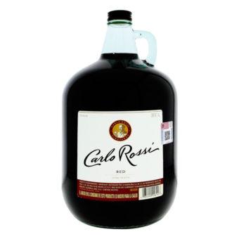 VINO TINTO CARLO ROSSI 4000 ml.