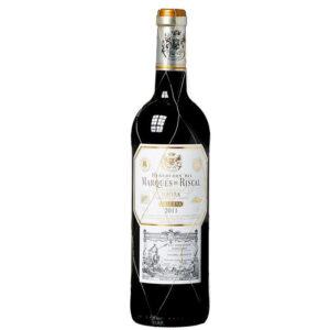 VINO TINTO MARQUES DE RISCAL 750 ml.