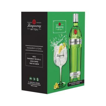 GINEBRA TANQUERAY TEN GIN 700 ml. + COPA