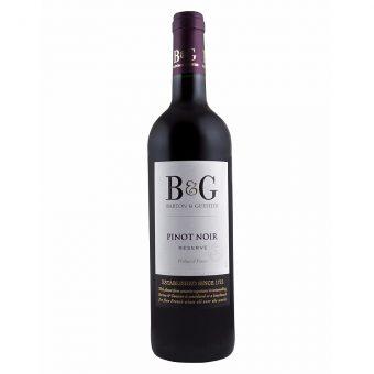 VINO TINTO B & G RESERVE PINOT NOIR 750 ml.