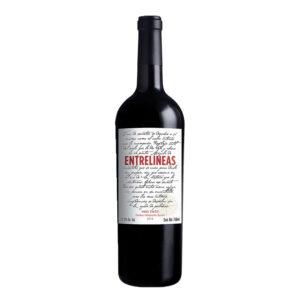 VINO TINTO ENTRELINEAS 750 ml.