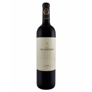 VINO TINTO LOS HAROLDOS RESERVA MALBEC 750 ml.