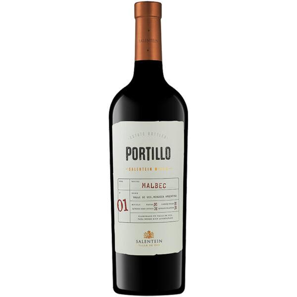 Vino Tinto Finca El Portillo Malbec 750 ml.