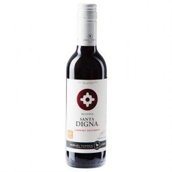 Vino Tinto Santa Digna Cabernet Sauvignon 375 ml.