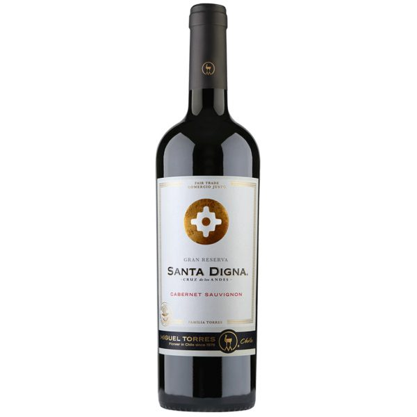 Vino Tinto Santa Digna Cabernet Sauvignon 750 ml.