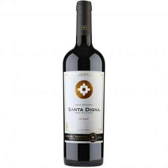 Vino Tinto Santa Digna Syrah 750 ml.
