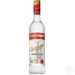 Vodka Stolichnaya 750 ml.
