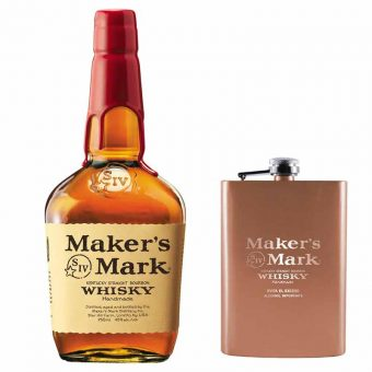 WHISKY BOURBON MAKERS MARK 750 ml. + ANFORITA