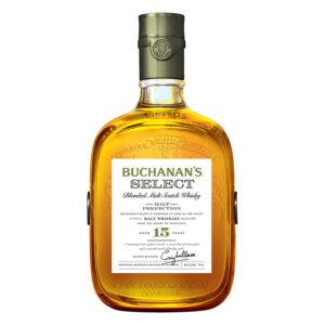 WHISKY BUCHANANS SELECT 15 AÑOS 750 ml.