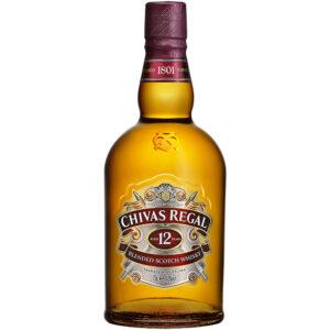 Whisky Chivas Regal 12 Años 750 ml.