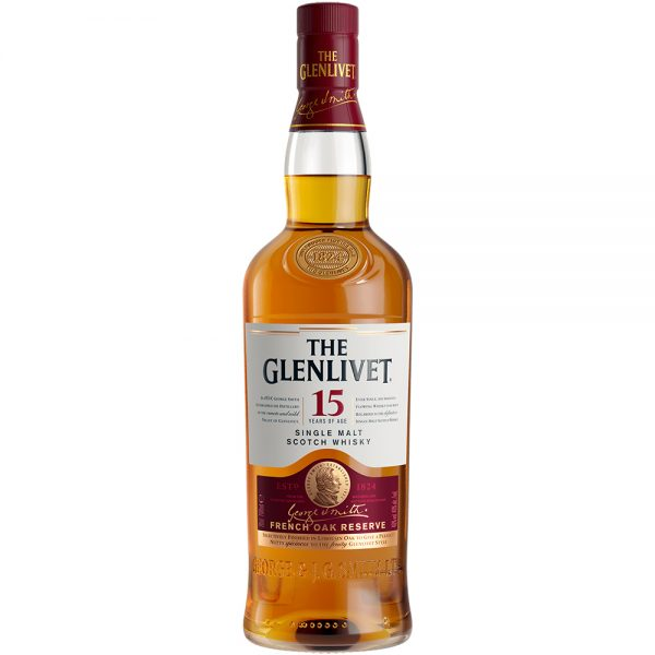 Whisky Glenlivet 15 Años 750 ml.