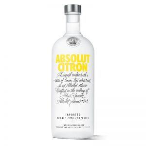VODKA ABSOLUT CITRON 750 ml.