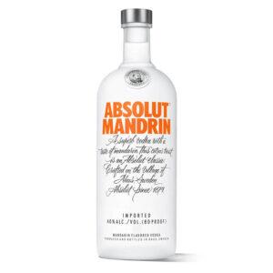 VODKA ABSOLUT MANDRIN 750 ml.