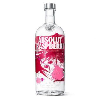 VODKA ABSOLUT RASPBERRI 750 ml.