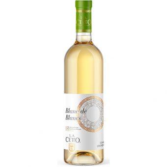 Vino Blanco L.A. Cetto Blanc De Blancs 750 ml.