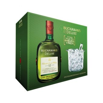 WHISKY BUCHANAN´S 12 AÑOS 750 ml. + HIELERA
