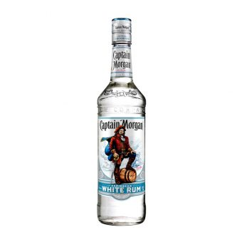 RON CAPTAIN MORGAN WHITE 750 ml.