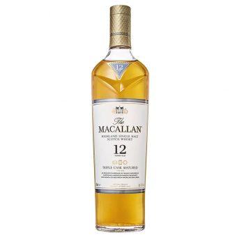 WHISKY THE MACALLAN 12 AÑOS 700 ml.