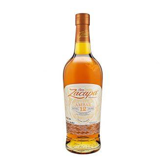 RON ZACAPA AMBAR 12 AÑOS 750 ml.