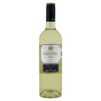 VINO BLANCO MARQUES DE RISCAL RUEDA 750 ml.