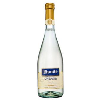 VINO BLANCO RIUNITE MOSCATO TREBBIANO 750 ml.