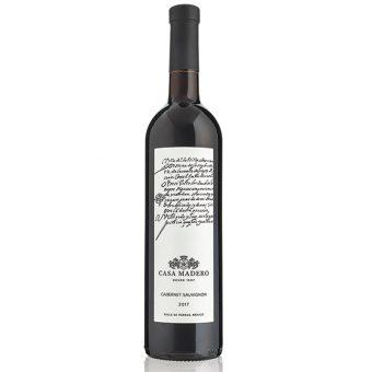 VINO TINTO CASA MADERO CABERNET SAUVIGNON 750 ml.