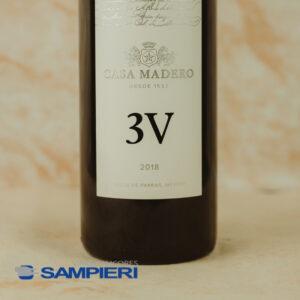 Vino Tinto Casa Madero 3V 750 ml.