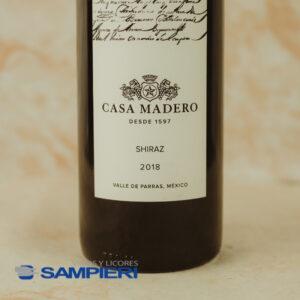 Vino Tinto Casa Madero Shiraz 750 ml.