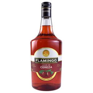 LICOR FLAMINGO DE CEREZA 1000 ml.
