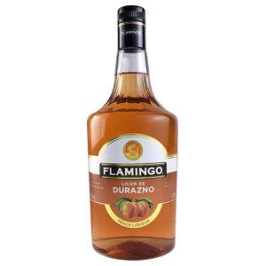 LICOR FLAMINGO DE DURAZNO 1000 ml.