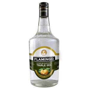 LICOR FLAMINGO DE NARANJA TRIPLE SECO 1000 ml.