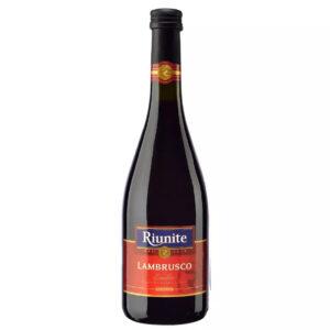 VINO TINTO LAMBRUSCO RIUNITE 750 ml.