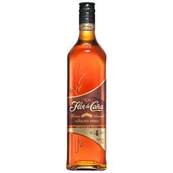 Ron Flor De Caña 4 Años Gold 750 ml.