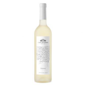 VINO BLANCO CASA MADERO CHARDONNAY 750 ml.